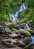 Torc waterfall in Killarney National Park Stock Photography
