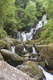 Torc waterfall in National Park Killarney, Ireland Stock Images