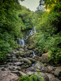 Torc waterfall near Killarney at Ring of Kerry Stock Photography