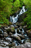 Torc waterfall. Stunning Torc waterfall in the Killarney National Park, Ireland Stock Photos