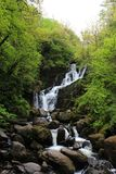 Torc Waterfall. In Ring of Kerry, Ireland Royalty Free Stock Photo