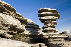 Torcal de Antequera, Spain Stock Photography