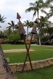 Torce hawaiane di tiki Immagini Stock