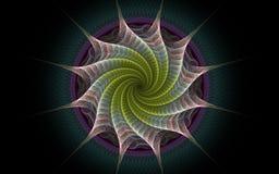 Torcedura blanca de la estrella Imagenes de archivo