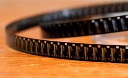 torcedura de la película de 8 milímetros Foto de archivo