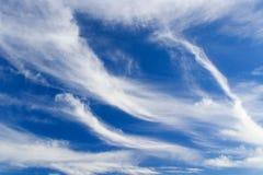 Torcedura del cielo Foto de archivo