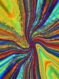 Torcedura psicodélica Fotografía de archivo libre de regalías