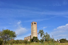Torcello ancient bell tower Royalty Free Stock Photo
