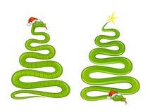 Torcer la serpiente Imagen de archivo libre de regalías