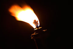 Torch flame fire burn Royalty Free Stock Image