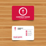 Torch flame sign icon. Fire symbol. Business card template with texture. Torch flame sign icon. Fire flaming symbol. Phone, web and location icons. Visiting Royalty Free Stock Photos