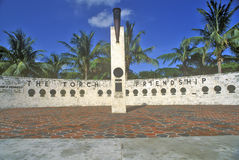 The Torch of Friendship at Bayside Park, Miami, Florida Stock Photos