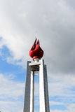 The torch tower. Stock Image