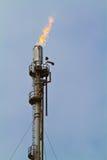 Torchage de gaz Photos libres de droits