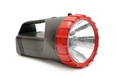 Torche électrique d'isolement sur le blanc Photographie stock libre de droits
