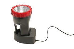Torche électrique et dispositif de remplissage Image libre de droits