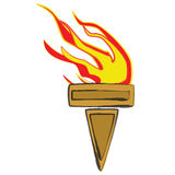 Torche Image libre de droits