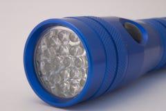 Torche bleue de DEL Image libre de droits