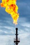 Torche d'huile Photo libre de droits