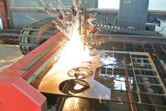 Torche de plasma Image libre de droits