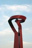 Torche de sculpture en amitié Images libres de droits