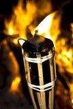 Torche flamboyante Image libre de droits