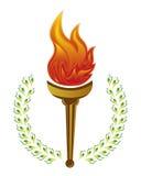 Torche olympique illustration stock