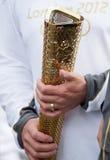 Torche olympique Londres 2012 Photos libres de droits
