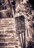Torche sul cimitero messicano Fotografia Stock