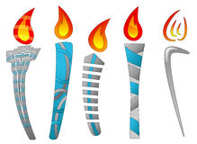 Torches Royalty Free Stock Images