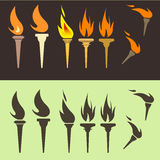 Torches Stock Photography