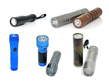 Torches de LED Photographie stock