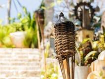 Torches sur le cimetière mexicain Image libre de droits