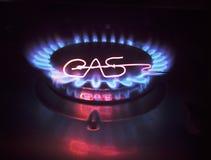 Torcia del gas Fotografia Stock