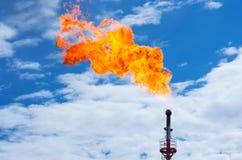 Torcia del gas immagine stock