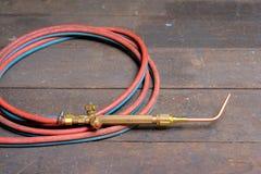 Torcia della saldatura a gas Fotografie Stock