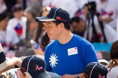 Torcia di pace - rappresentante del Centennial 7 della Cina Taiwan Fotografia Stock Libera da Diritti