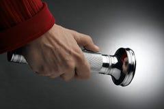 Torcia elettrica Fotografie Stock Libere da Diritti