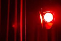 Torcia elettrica dello studio Fotografia Stock Libera da Diritti