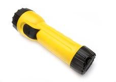 Torcia elettrica gialla e nera fotografie stock libere da diritti