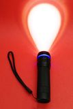 Torcia elettrica luminescente Immagine Stock Libera da Diritti