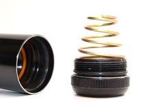Torcia elettrica - parte inferiore Fotografia Stock