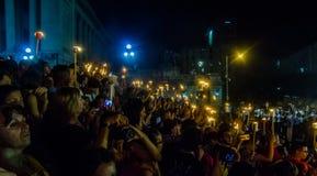 Torcia marzo Avana, Cuba II Immagine Stock Libera da Diritti