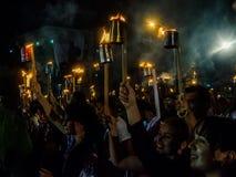 Torcia marzo Avana, Cuba III Immagini Stock
