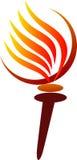 Torcia olimpica Immagini Stock Libere da Diritti