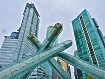Torcia olimpica Fotografie Stock Libere da Diritti