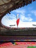 Torcia olimpica Fotografia Stock Libera da Diritti