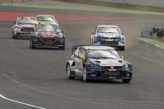 Tord LINNERUD Volkswagen Polo Barcelona FIA świat Obrazy Stock