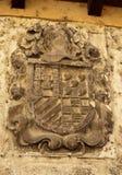 Tordesillas Historical Coat of Arms Royalty Free Stock Photos