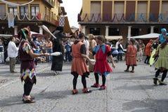 Tordesillas (Valladolid), Spagna - 4 ottobre 2008 Fotografia Stock Libera da Diritti